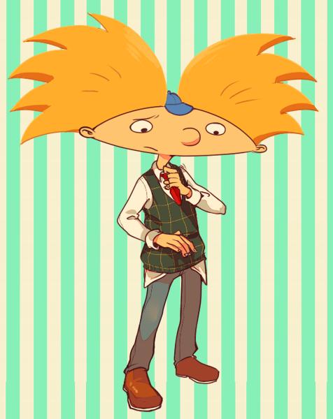 Family Man Hey Arnold Hey Arnold Characters Cartoon