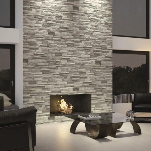 Superb Brick Lava Feature Wall Tiles Fireplace Fireplace Home Interior And Landscaping Eliaenasavecom