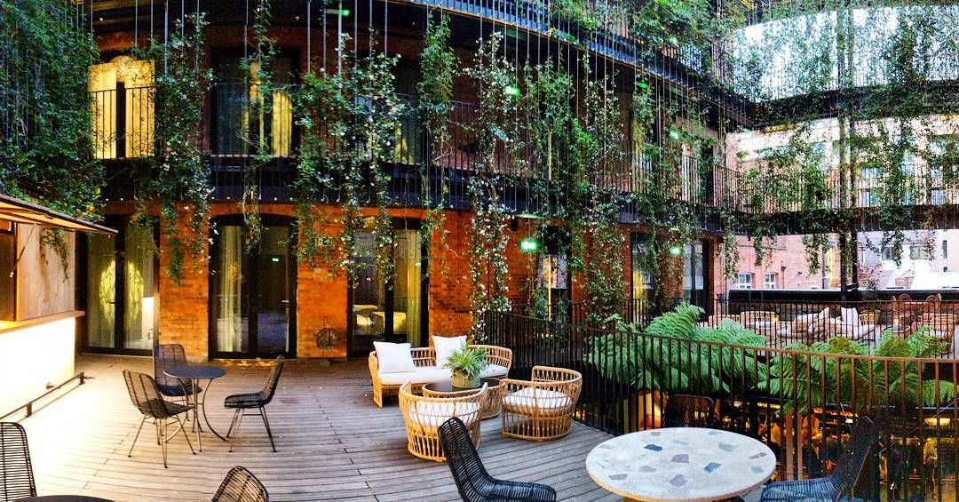 Wow! Preopening. Like no other hotel in London Mandrake