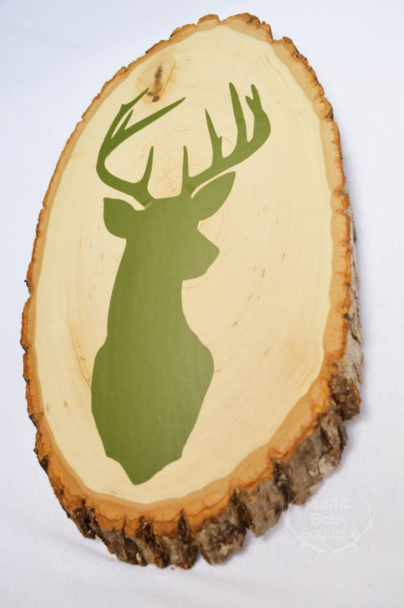 10 point deer head silhouette would be the perfect addition to any ...