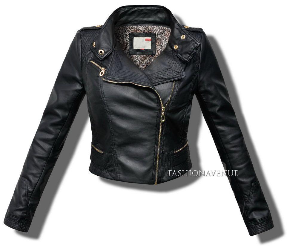 Kurtka Damska Ramoneska 35 Fashion Jackets Leather Jacket