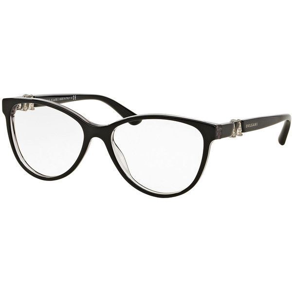 Bvlgari Cat-Eye Optical Frames (575 CAD) ❤ liked on Polyvore ...