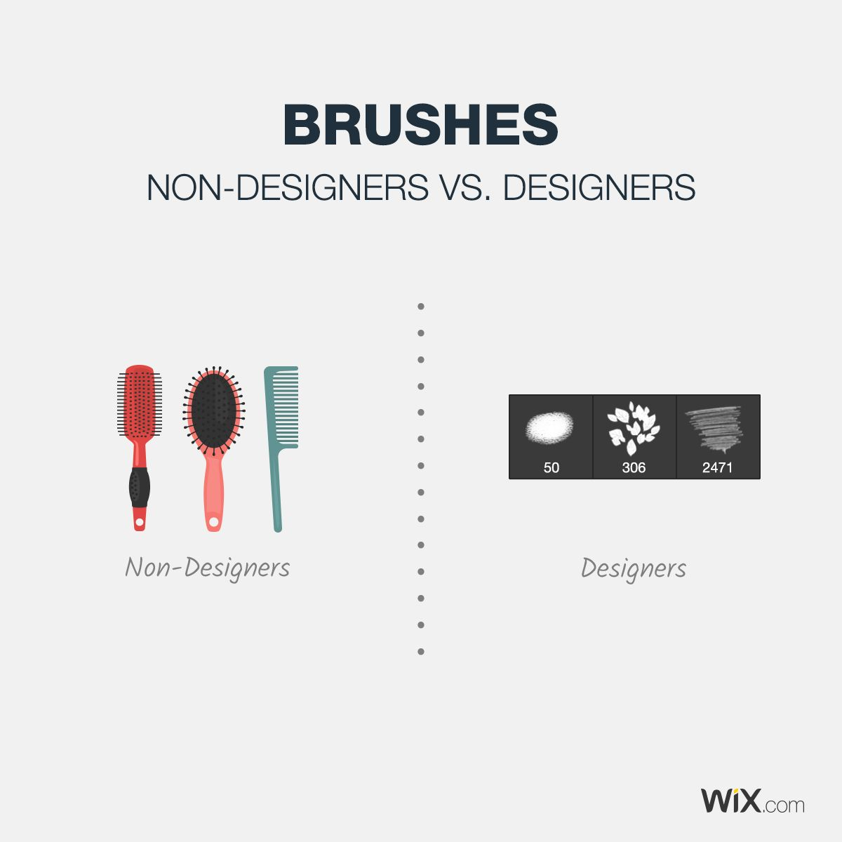 There Are Some Things That Only Designers Will Understand Designers Vs Non Designers Brushes Graphic Design Memes Graphic Design Humor Graphic Design Tips