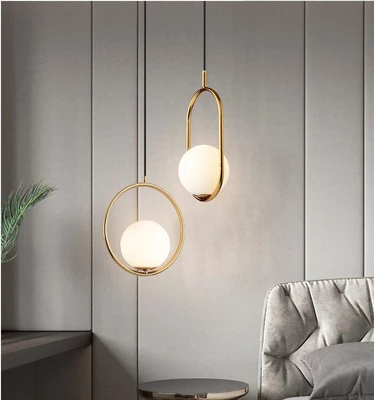 Contemporary Nordic Pendant Light in 2020 | Moon pendant