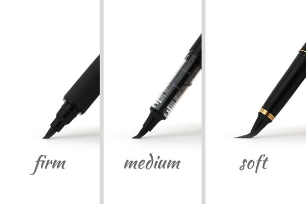 Brush Firmness Desain Inspirasi Kaligrafi