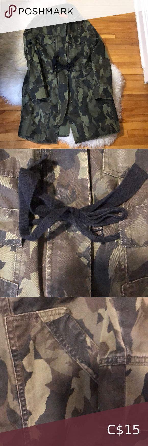 Joe fresh army jacket