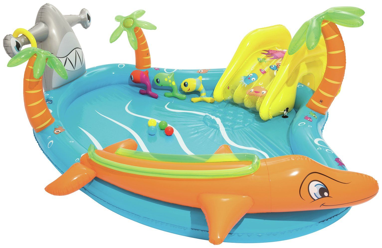 Buy Chad Valley 9ft Sea Life Play Kids Paddling Pool 273l Pools And Paddling Pools Argos Baby Paddling Pool Play Pool Inflatable Swimming Pool