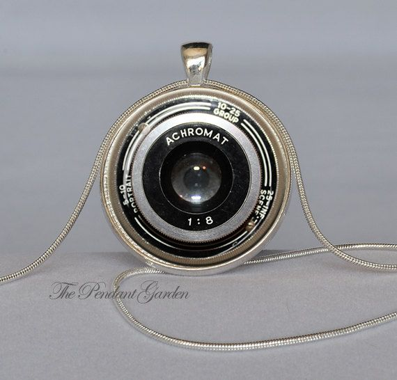 initial on il camera fvif etsy charm filled necklace market gold chain photography
