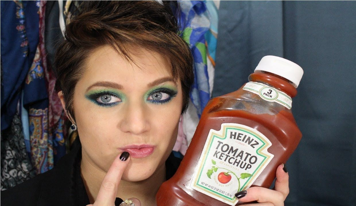 Get rid of cold sores with ketchup no joke cold