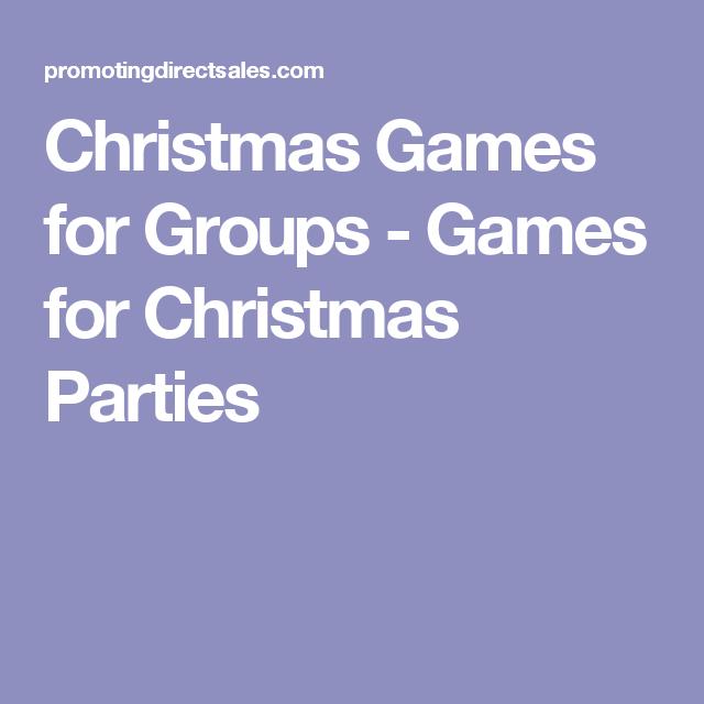 christmas games for groups games for christmas parties - Christmas Games For Groups