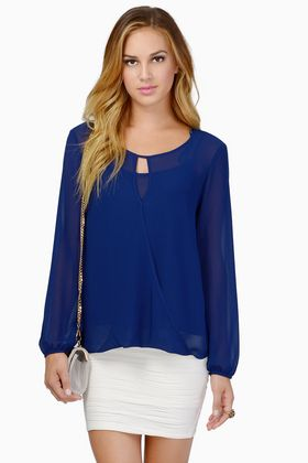 Come Love Me Forever Blouse