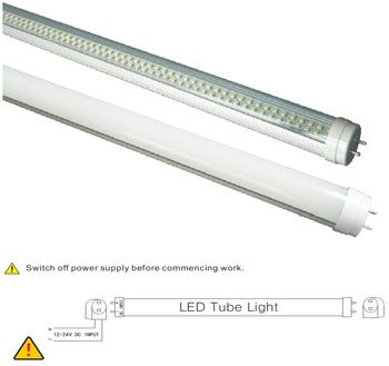 T8 T12 Led Tube 2 Foot 10w 160 Smd 3528 12 24v Ac Dc 2 Foot 587mm 10w Led Tube Light Low Voltage 12 24v Ac Dc Up To 110 Led Tube Light Led Tubes Tube Light