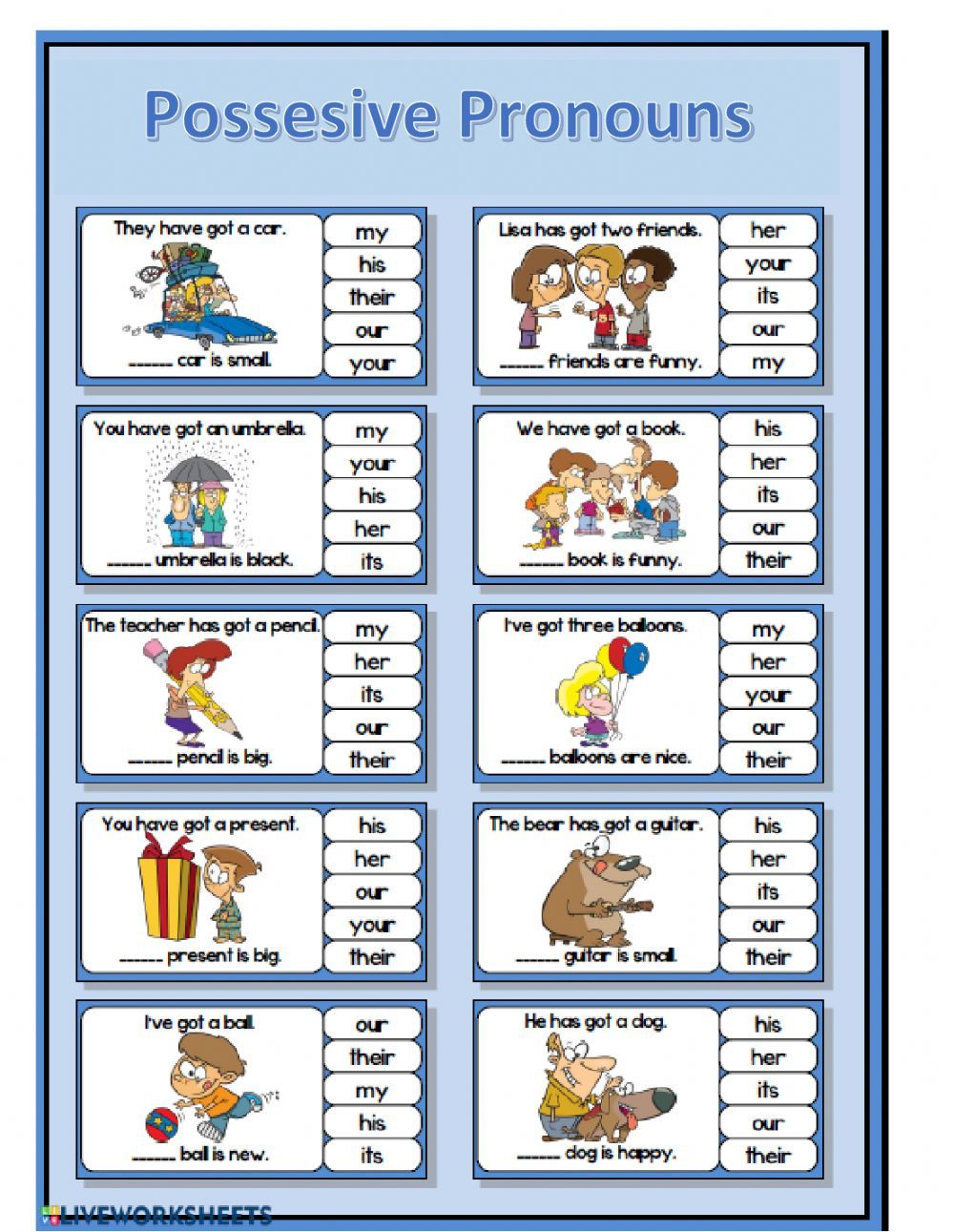 Possessive Pronouns Online Pdf Worksheet Possessive Pronoun Possessive Pronouns Worksheets Pronoun Activities [ 1291 x 1000 Pixel ]