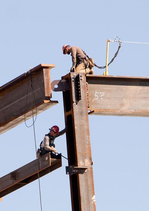 Connectors Steel Erectors Construction Worker Ironworkers