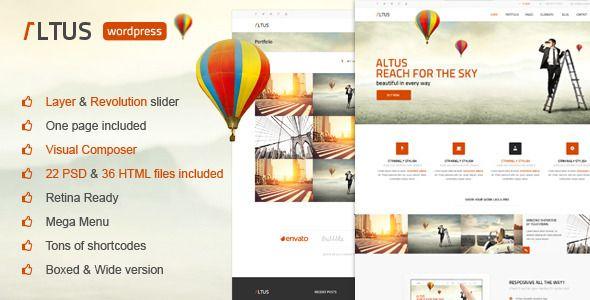 Altus – Multi-Purpose WordPress Theme Download link: Altus – Multi ...