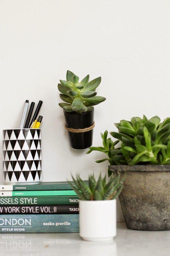 Urban jungle bloggers hanging planters via 23qmstil - Colgadores de macetas ...