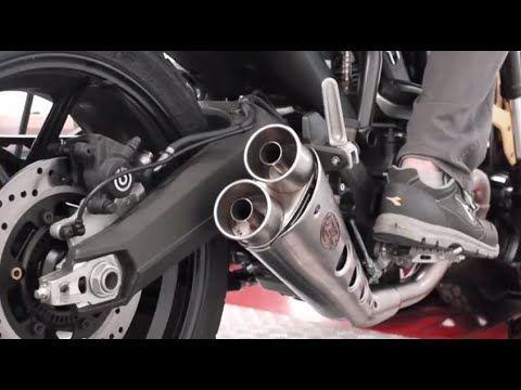 Scrambler Ducati Exhaust Zard Sound Test Youtube Motorcycles