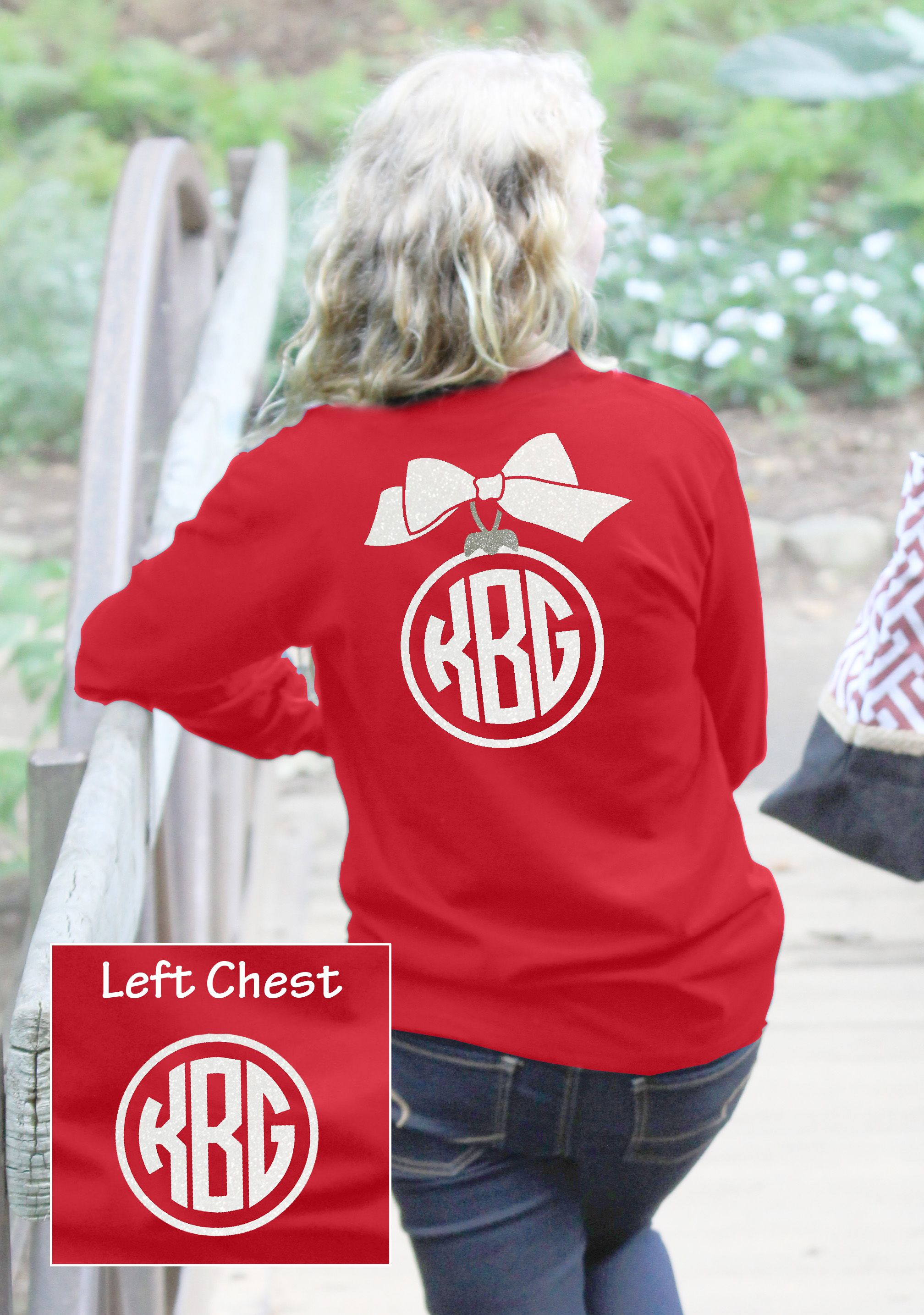 Get Your Preppy Ornament Monogram T Shirt Available From