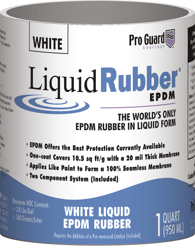 Original Liquid Rubber Epdm 174 Pro Guard Coatings Shed