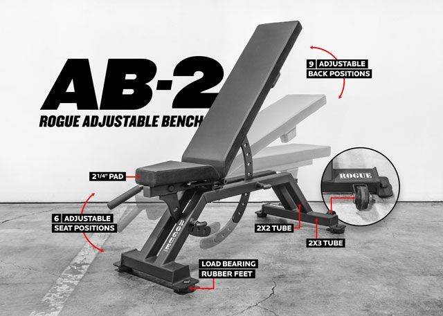 Ab 2 Adjustable Bench Weight Benches At Home Gym Adjustable Weight Bench