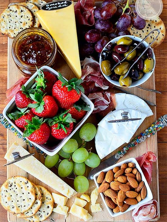 Build A Charcuterie Board In 4 Easy Steps Food Platters Food Snacks
