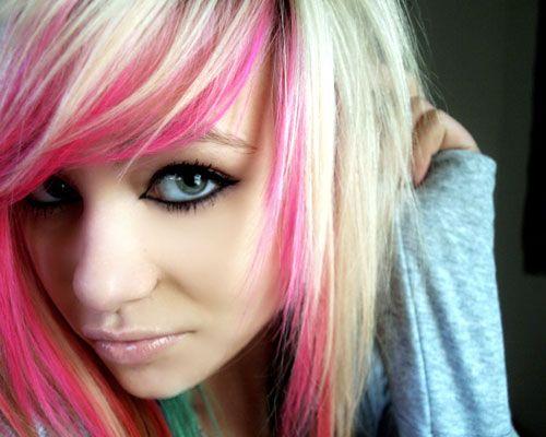 Pink Hair Medium Hair Styles Ideas 4419448213 Cool Hair Color Scene Hair Bright Hair