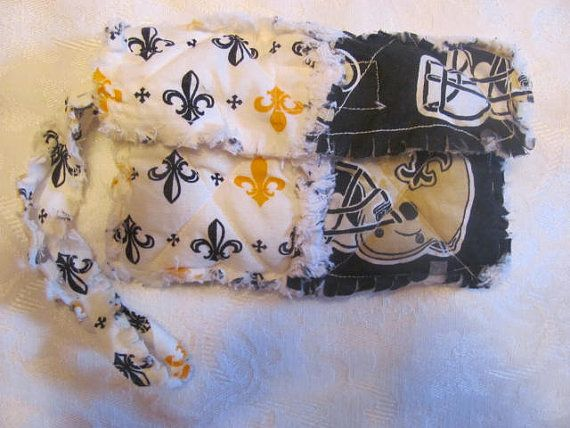 New Orleans Saints Inspired Clutch Bag Nola Inspired Cell Phone Case