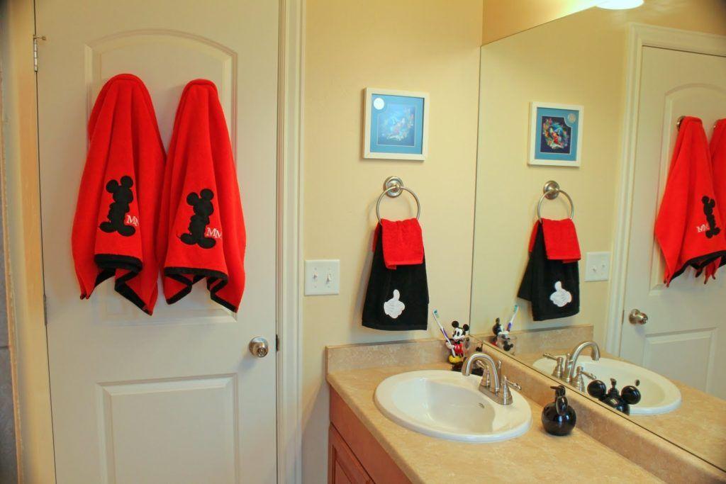 Mickey mouse decorations for bathroom bathroom decor pinterest