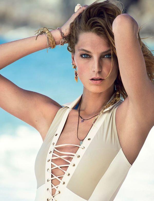Vogue Spain July 2013 /  Model: Daria Werbowy / Photography: Patrick Demarchelier