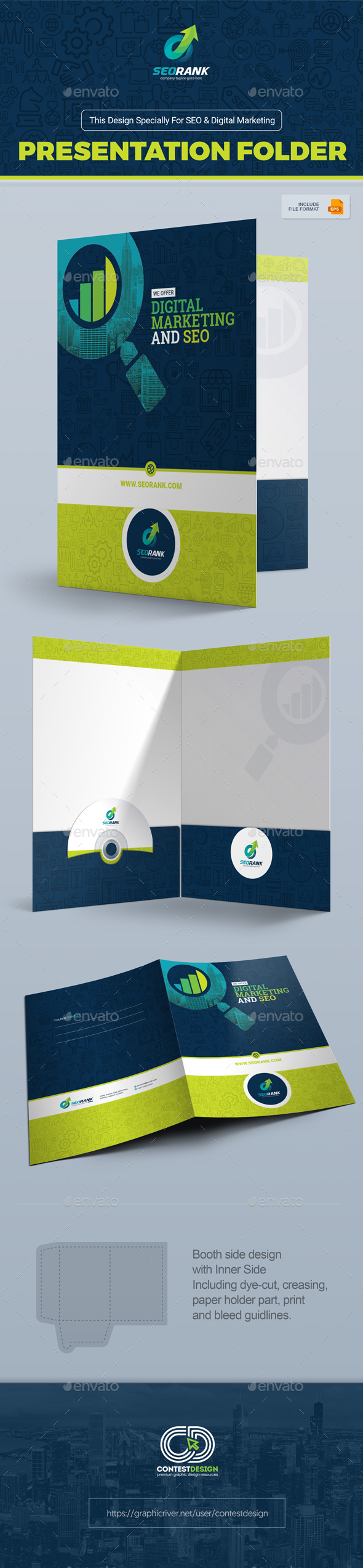 presentation folder template for seo (search engine optimization, Presentation templates