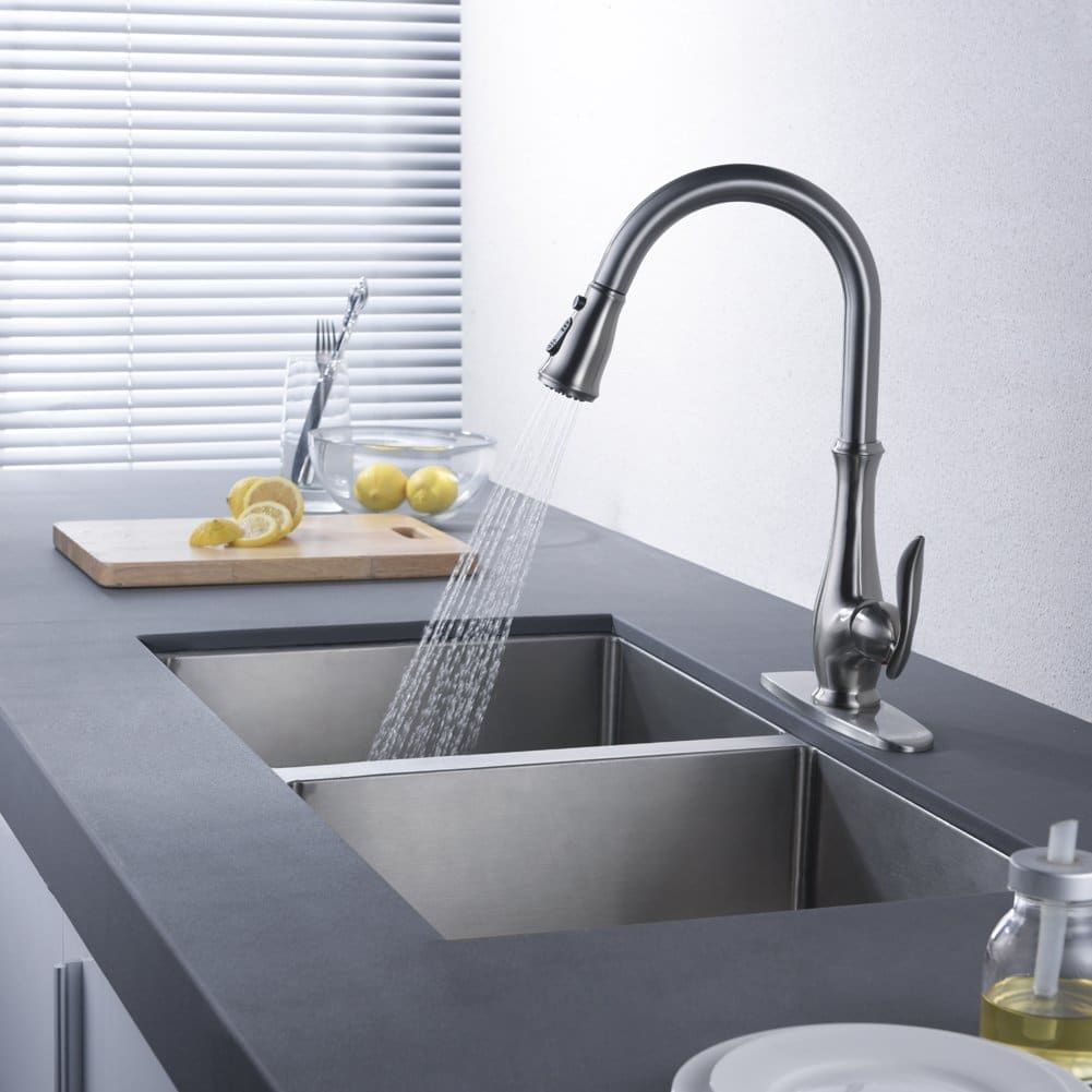Top 10 best kitchen faucets in 2018 hqreview