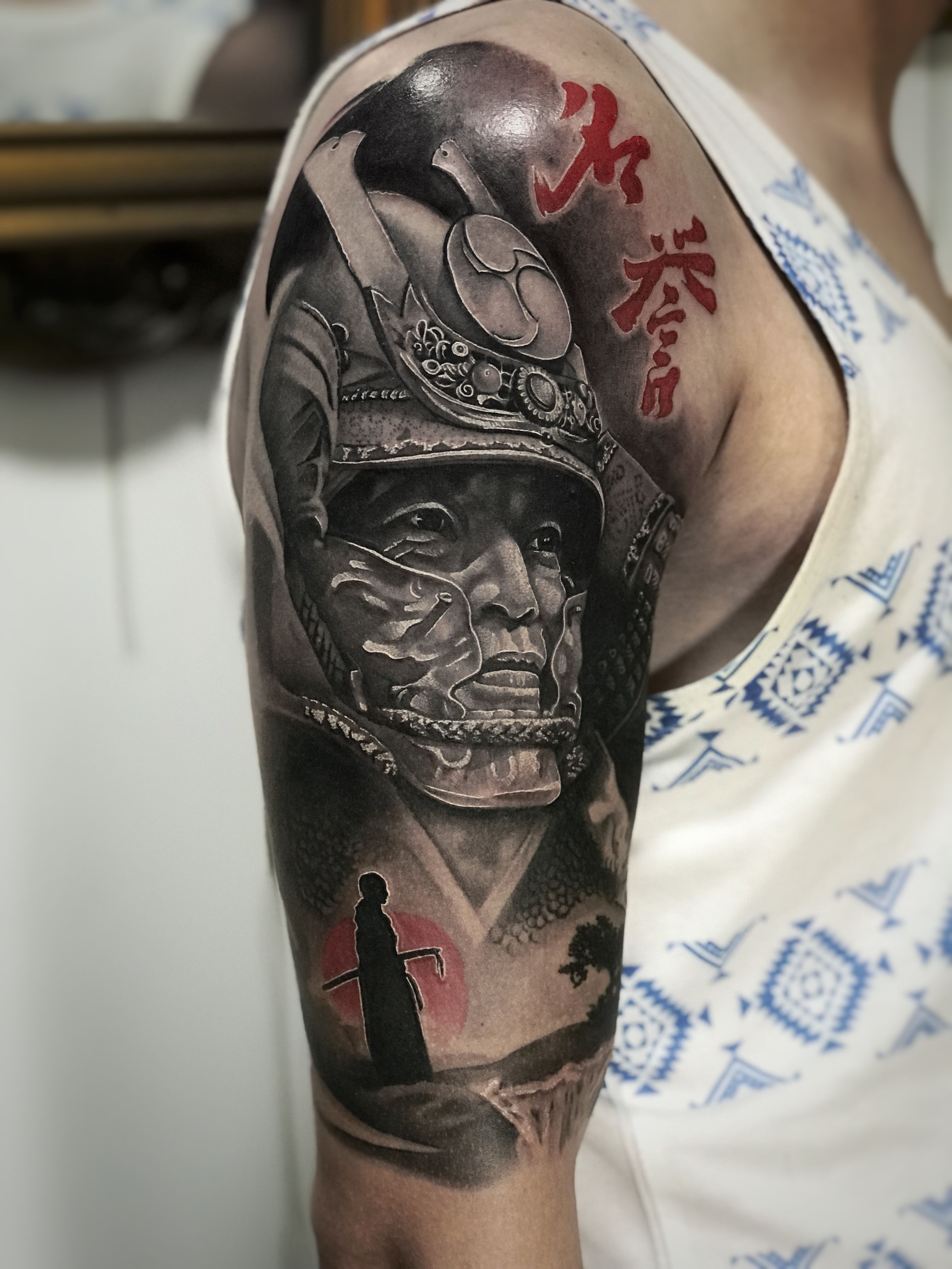Pin By Dory On Tattoo In 2020 Japanese Tattoo Sleeve Samurai