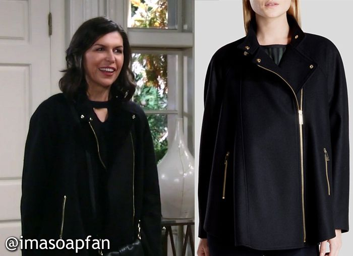 a1b39ab14385d I m a Soap Fan  Anna Devane s Black Cape - General Hospital