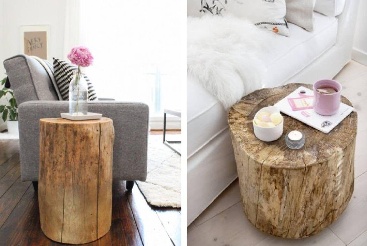 Ceppo Di Legno Tavolino ceppi e tronchi di legno per arredare casa | tronco di legno