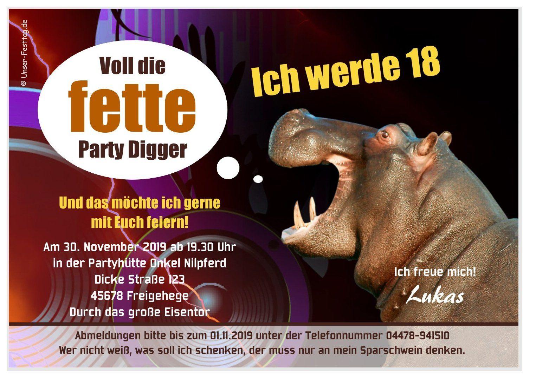 Wunschtext JEDES ALTER top lustige Einladungskarte für Frauen Geburtstag Party