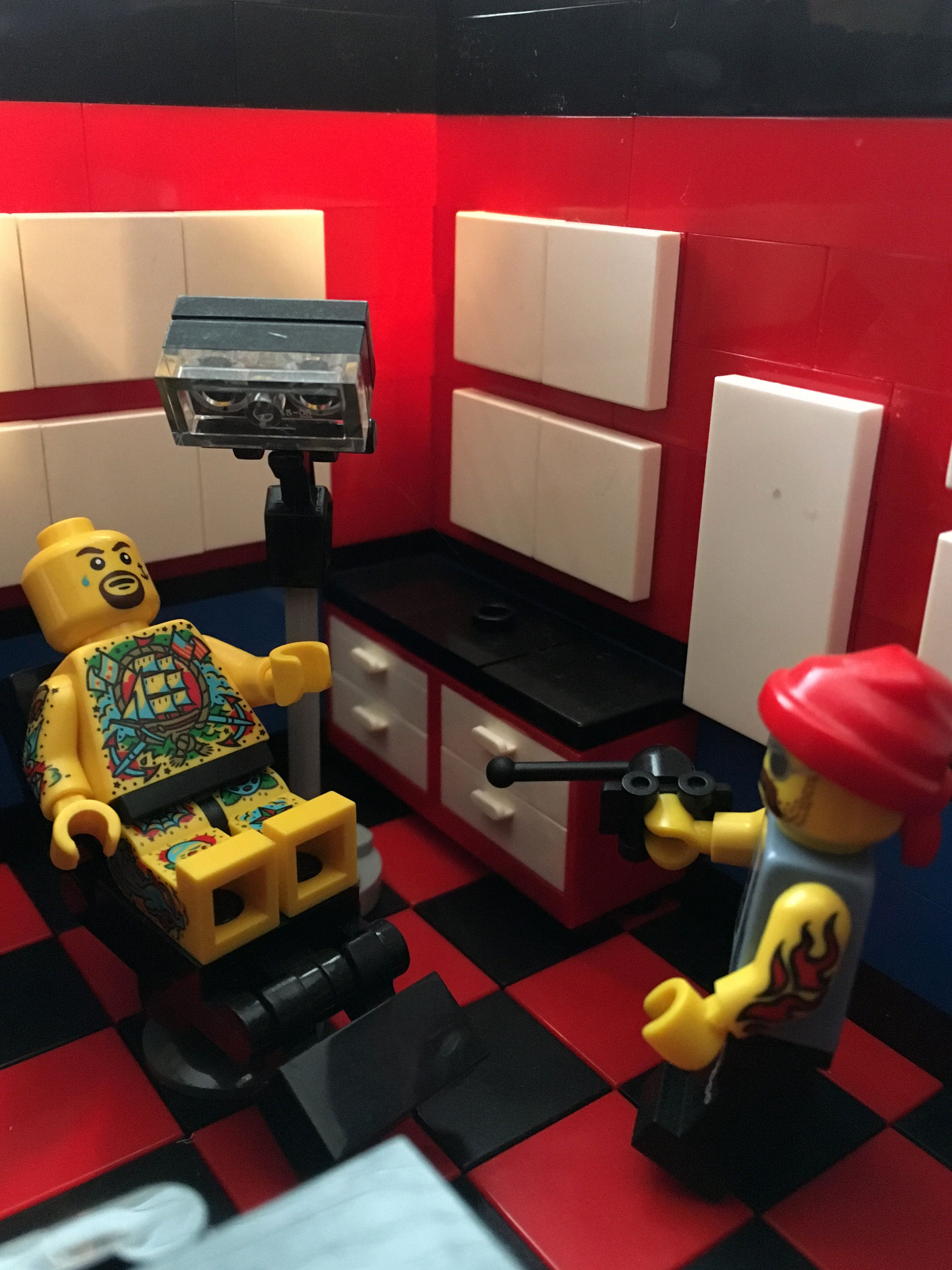 Img_8180 in 2020 tattoo shop gaming products lego