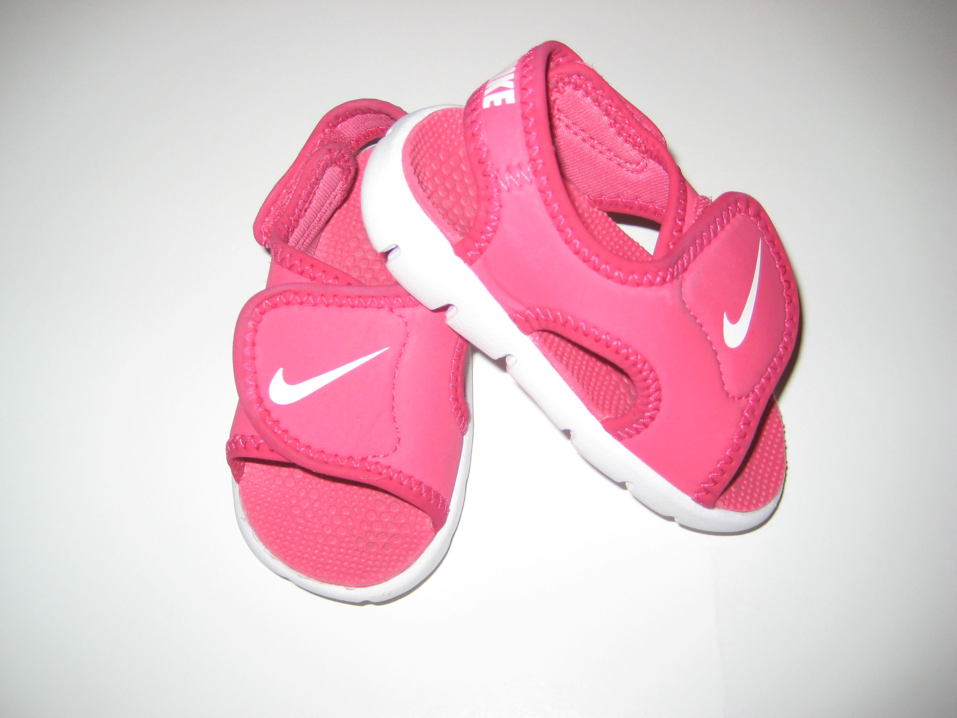 Nike Pink Sandals I got these at Foot Locker awhile ago I have