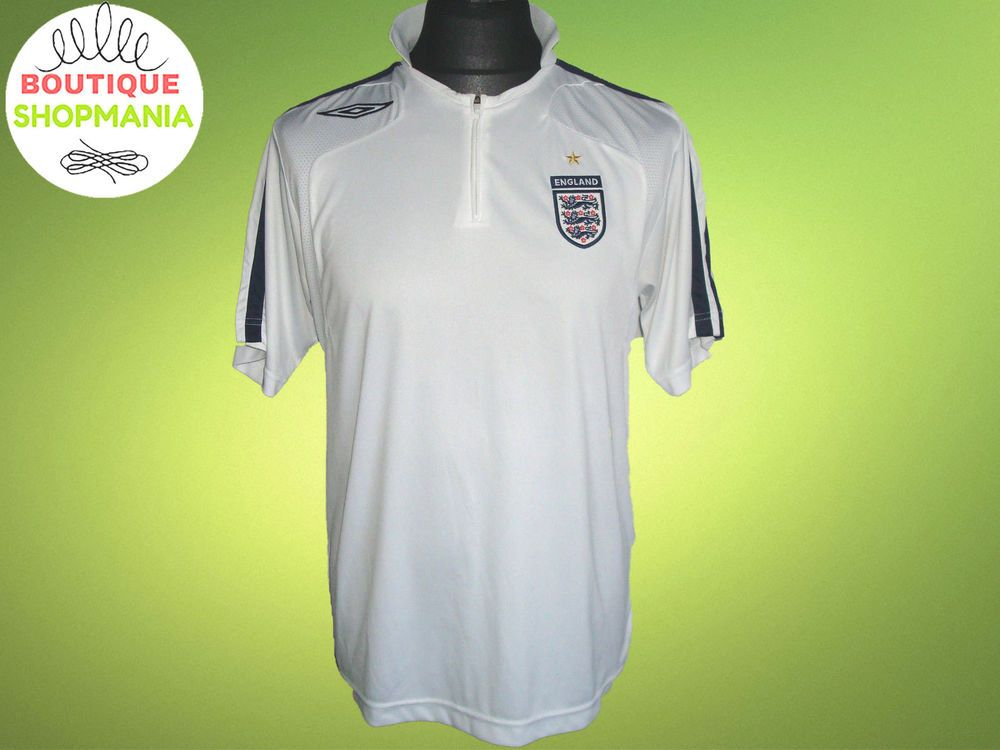 England National Trainig M Football Shirt Jersey Quarter Zipper Camisa Football Shirts England National Shirts