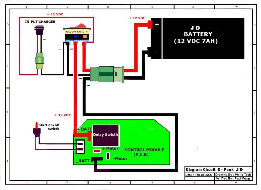 12 Motorcycle Wiring Diagram Without, Battery Wiring Diagrams