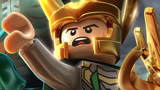 Attractive Lego Marvel Heroes Loki