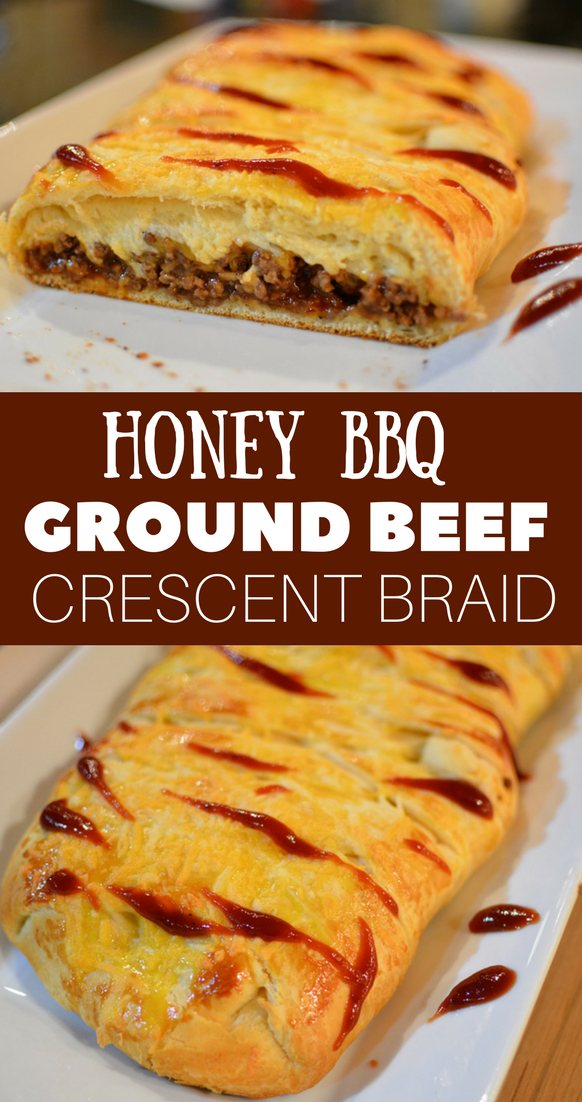 Bbq Beef Braid Recipe Crescent Recipes Pillsbury Crescent Recipes Crescent Roll Recipes Dinner