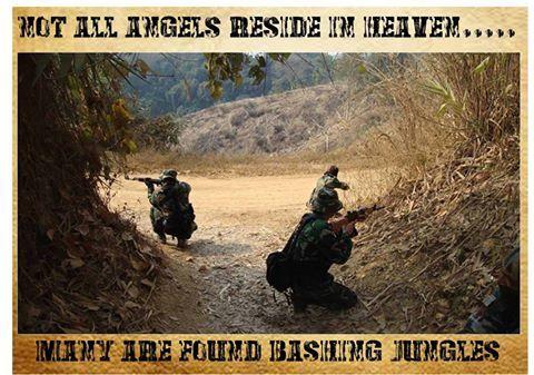 #IndianArmy soldiers rehearsing Ambush Drills
