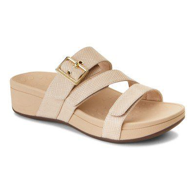 women's comfortable sandals with arch support  vionic