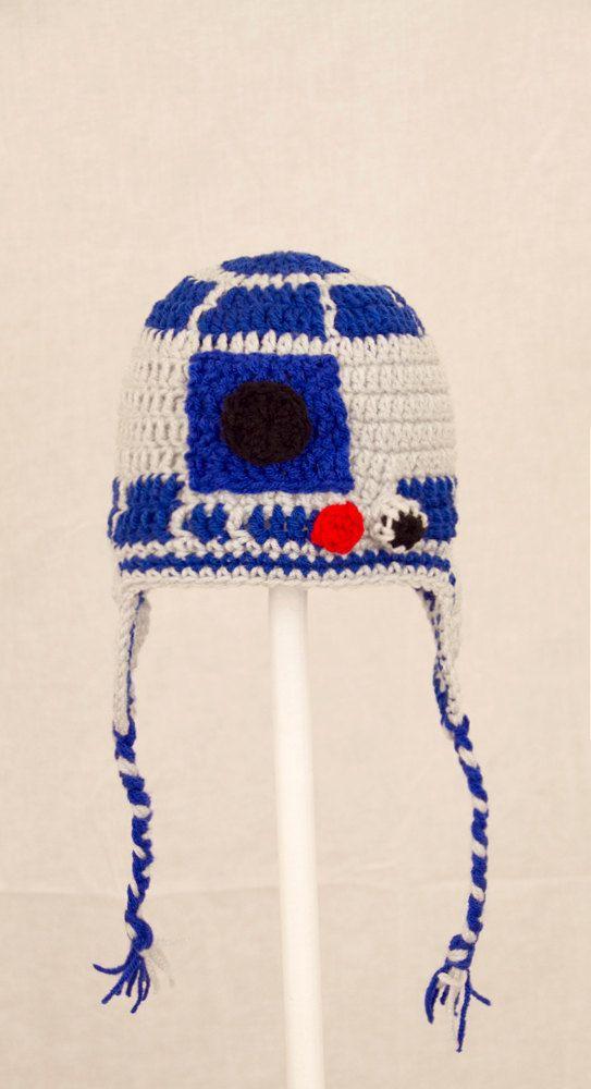 R2-D2 Knit Hat | Things I Love | Pinterest | Blusas tejidas y Blusas