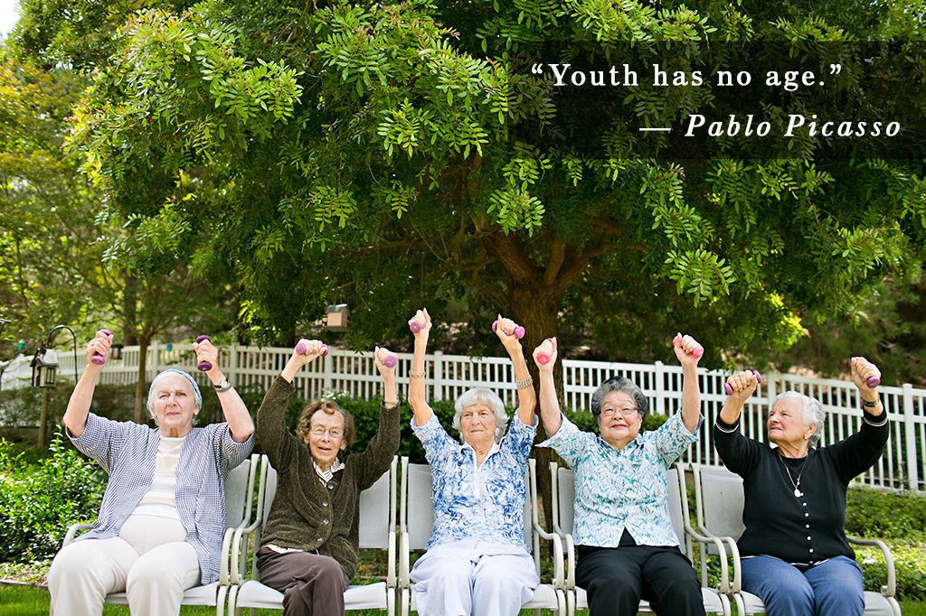 In our communities, age really is just a number. Ask our