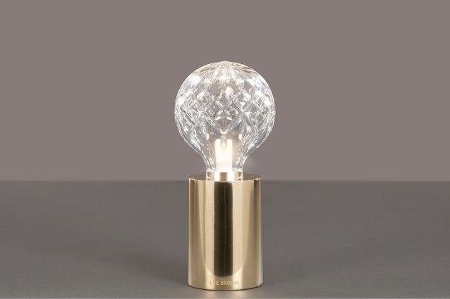 Lee Broom Clear Crystal Bulb Table Lamp Table Lamp Brass Table Lamps Bulb