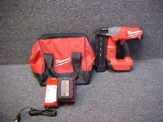 milwaukee fuel brushless cordless finish nailer kit pack of - Milwaukee Cordless Framing Nailer