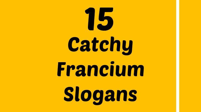 Francium Slogans Element Slogans Pinterest Slogan, Atomic - best of periodic table zr