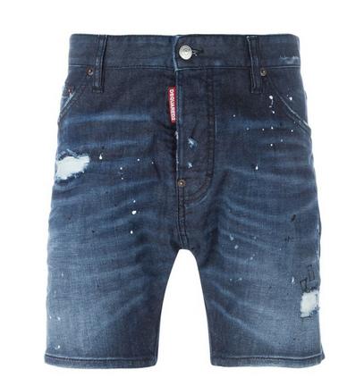 Torn Short Jeans, Dsquared2 $420 tessabit.com