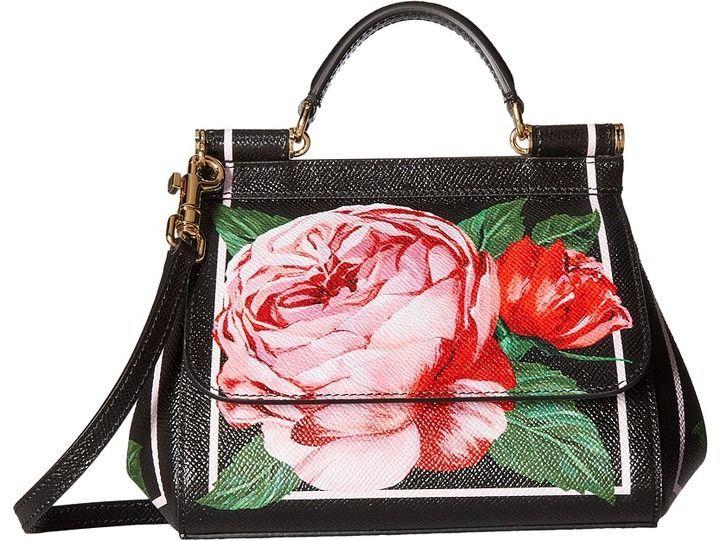 Dolce Gabbana  huge discount 3eba7 38e97 Dolce gabbana st dauphine miss  sicily mini bag at 6pm.com ... 2c8f6f14994a5